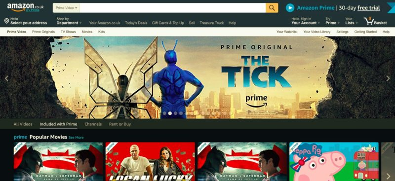 Unblock Amazon Instant in France