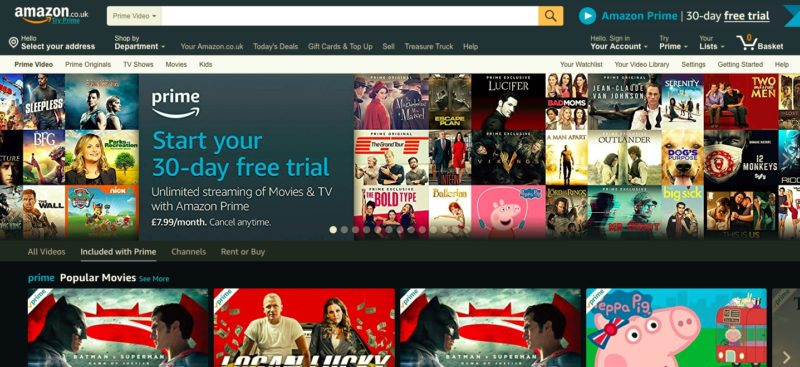 Unblock Amazon Instant in Luxembourg
