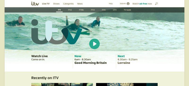 Unblock ITV in Aruba - Watch ITV Hub outside the UK