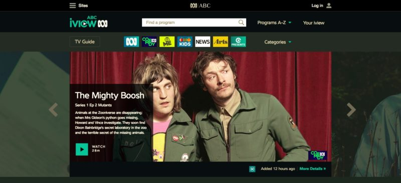 Unblock ABC iview in Russia