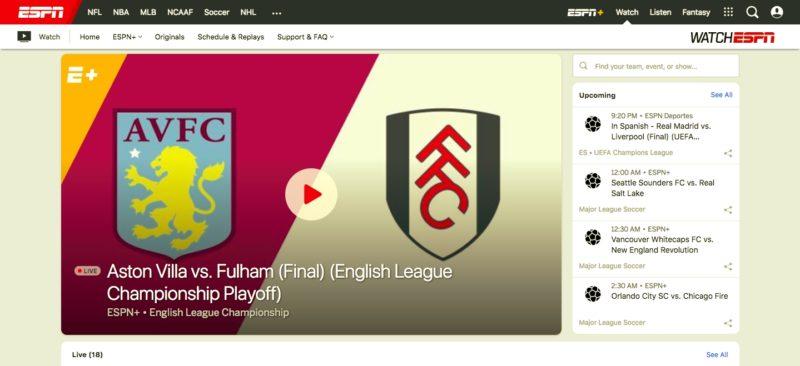 Unblock ESPN in Hong Kong
