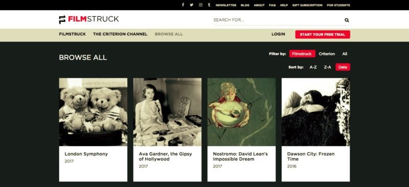 Unblock FilmStruck in Argentina