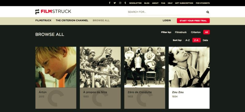 Unblock FilmStruck in Luxembourg