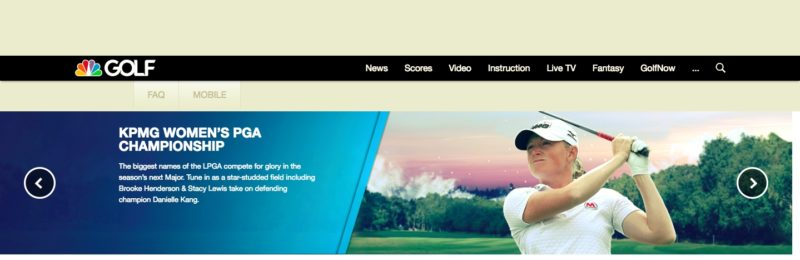 Unblock Golf Channel in Luxembourg