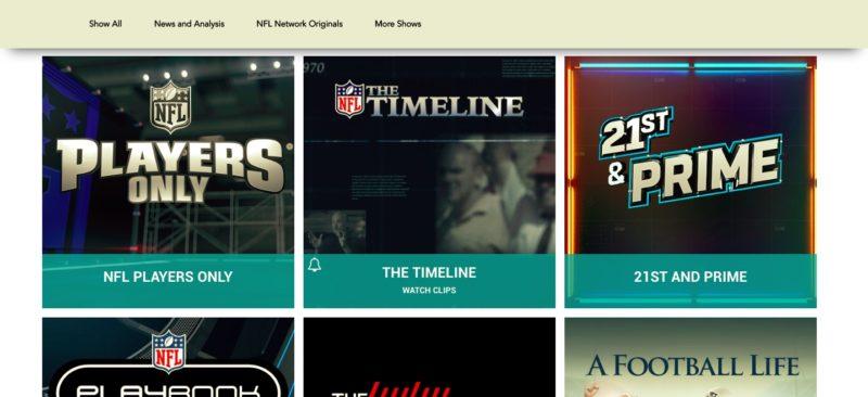 Unblock NFL Network in Niue
