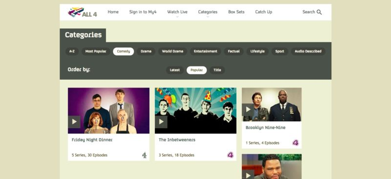 how to watch channel 4 on demand outside uk