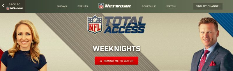 Unblock NFL Network in Luxembourg