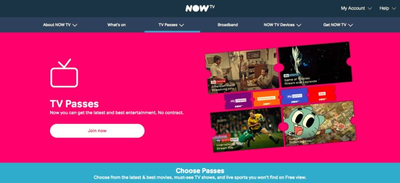 Unblock Now TV in Vietnam - Watch nowtv com outside the UK