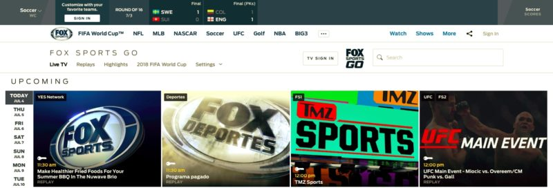 Unblock FOX Sports GO in Svalbard and Jan Mayen