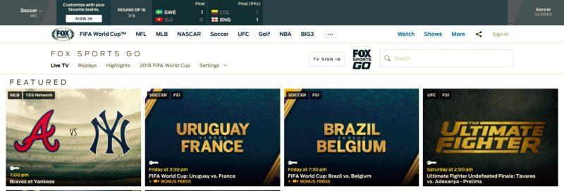 Unblock FOX Sports GO in Croatia