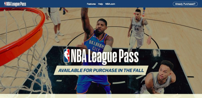 Unblock NBA League Pass in Luxembourg