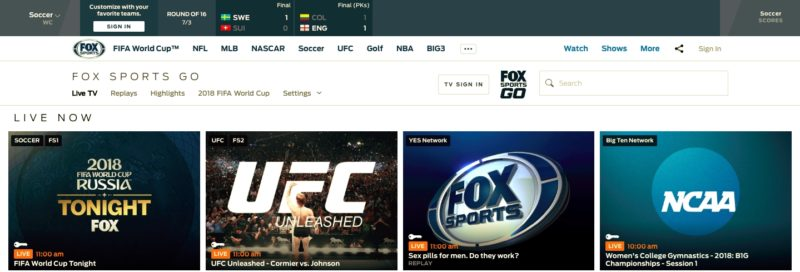 Unblock FOX Sports GO in Luxembourg