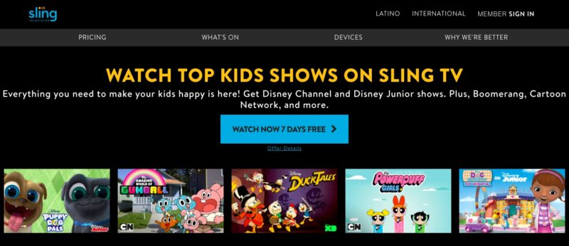 Unblock Sling TV in Zimbabwe