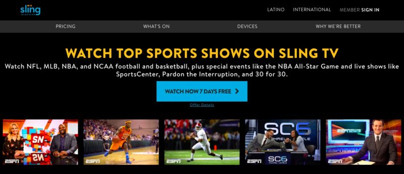 Unblock Sling TV in Trinidad